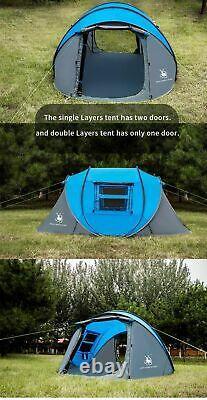 Pop Up Camping Tentes Grande Capacité Tente 5 Personne Tente De Randonnée Tente Travel Tent