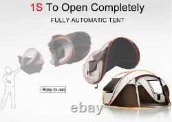 Portable Extérieur Imperméable À L'eau Big Large Family Instant Pop Up Beach Camping Tent