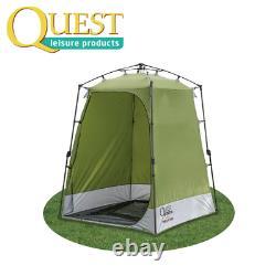Quest Elite Utilitaire Instantané Et Entreposage/ Douche Toilette Tente