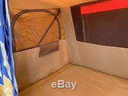 Raclet Flores 230 4-couchette Tente De Remorque Avec Grand Auvent