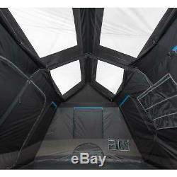 Repos Sombre Tente De Cabine Instantanée, 10 Personnes 2 Abri Extérieur Chambre Facile À Assembler