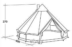 Robens Outback Klondike 6 Person Bell Tente
