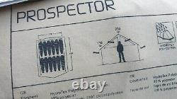 Robens Prospector Coton Convas Polycotton Crête Mess Tente Grand Acier Rustique
