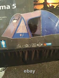 Salut Engins Atakama 5 Personne Berth Tente Avec Porche Utilisé Grande Condition