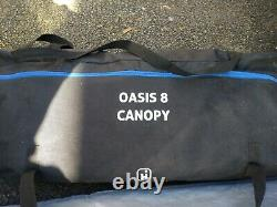 Salut Gear Oasis 8 Tente, Tapis, Porche, Footprint Grande Tente Familiale De 8 Hommes