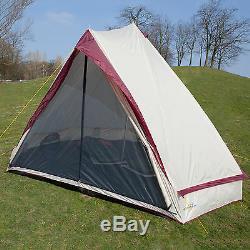 Skandika Comanche Tipi Tipi 8 Personne / Homme Tente Camping Grande Cousu Plancher Nouveau