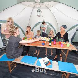 Skandika Korsika 10 Famille Personne / Homme Dôme Camping Grand Groupe Vert Nouveau