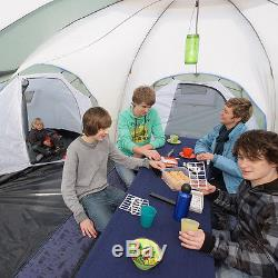 Skandika Korsika 8 Personne / Homme Famille Dôme Camping Grand Groupe Vert Nouveau