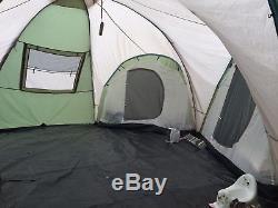 Skandika Korsika Tente Verte De Camping Pour Grand Groupe De 10 Dômes