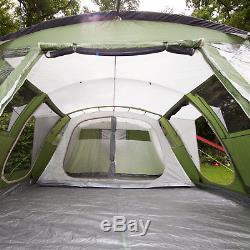 Skandika Nizza 6 Personne / Homme Tente Familiale Camping Grand Tapis De Protection Cousu Nouveauté