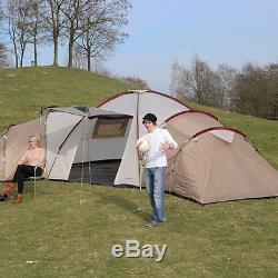 Skandika Tente De Famille Pour 12 Personnes Homme, Grand Camping, 3 Couchages