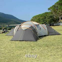 Skandika Turin 12 Personne Festival De La Famille 3 Chambre Camping Tente D'extérieur (a117)