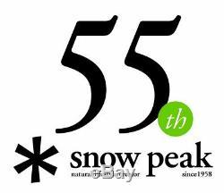 Snowpeak Enneigement Pic Terre Tp-810 L Tente Camp Extérieur Beige 10 Personnes