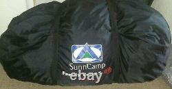 Sunncamp Familly Vario 5 Grande 2 Pièces Tunnel Tente Camping/outdoors/holiday