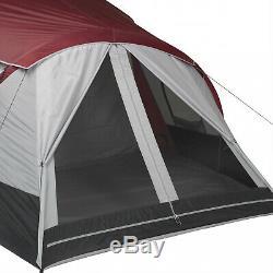 Tente De Cabine 3 Personnes Instantanée 3 Grands Abris De Camping En Plein Air 20x10 Instantanée