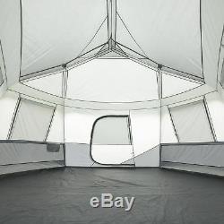 Tente De Cabine Hexagon Extra Large Fenêtres Évents Surdimensionnés Étendre Confortable Nouveau