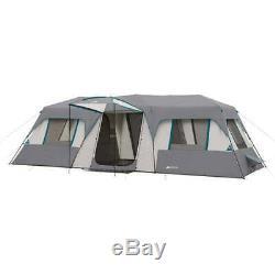 Tente De Cabine Instantanée Ozark Trail Pour 15 Personnes, Grande Chambre, Abri De Camping Familial, Turquoise