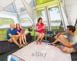 Tente De Cabine Instantanée Pour 12 Personnes, Grand, Vacances En Famille, Randonnée, Matériel De Camping