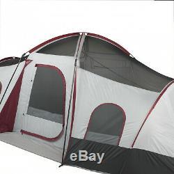 Tente De Cabine Instantanée Pour 3 Personnes 10 Personnes Grand Abri Pour Camping Extérieur 20 X 10 Nouveauté