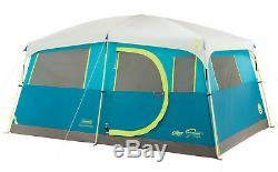 Tente De Cabine Rapide Pour 8 Personnes Avec Rangement Pour Penderie Grand Abri De Camping Familial
