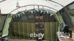 Tente De Cadre Outwell Vermont L Avec Tapis & Foorprint Utilisé En Bon État