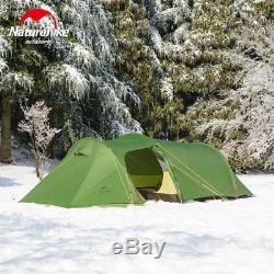 Tente De Camping 3 Pers Naturehike - Grande Tente Extérieure Pour Tunnel, 2 Saisons