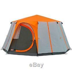 Tente De Camping En Plein Air Pour Tente Octogone Coleman Cortes Pour 8 Personnes, Très Grande