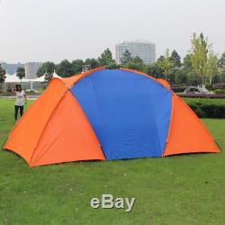 Tente De Camping Grand Auvent Nouvelle Abri Extérieur Pour 6 Personnes, Bâche Familiale, Cabine Instantanée