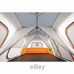 Tente De Camping Instantanée Pour 12 Personnes Avec Éclairage À Del Intégré, Grande Cabine De 10 X 18 Pi