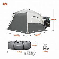 Tente De Camping Kingcamp Pour 4 Personnes, Vus, Grand, Imperméable, Facile À Installer, Extérieur