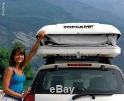 Tente De Camping Topcamp L Large 3 Personnes Incl. Voiture De Tête Vw Van Camper