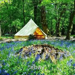 Tente De Cloche En Toile De 4m