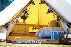 Tente De Cloche En Toile De 5m