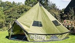 Tente De Famille Étanche Grande Capacité 4 Camps De Chasse Pour 10 Personnes De Grande Taille