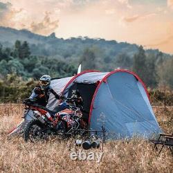 Tente De Moto Wolf Walker Pour 2-3 Personnes, Tente D'installation Rapide