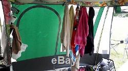 Tente De Remorque Conway Camborne 400dl - Grande Tente À 6 Places Ou Plus. Relist En Raison De La Perte De Temps