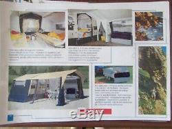 Tente De Remorque Trigano Oceane 2002 Plus Grand Auvent Pour 7 Personnes En Bon État