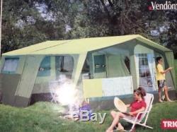 Tente De Remorque Trigano Vendome Large Pour 8 Personnes + Doubles Auvents / Extensions-coût 4,50 € +