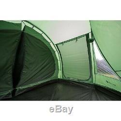 Tente De Tunnel Pour Famille, 4 Personnes, Highlander Sycamore, Tente De Camping 4, Pré