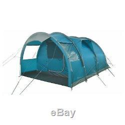 Tente De Tunnel Pour Famille, 5 Personnes Highlander Maple 5 Tente De Camping Ocean Teal