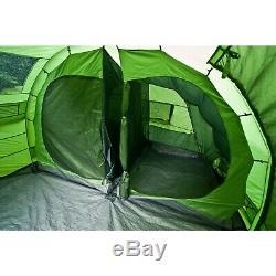 Tente De Tunnel Pour Famille, 5 Personnes Highlander Sycamore 5 Tente De Camping, Prairie
