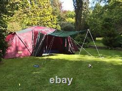 Tente Deluxe Large Khyam Rigi-dome Espace 6 -8 Couchettes Camping Tente Famille Dome