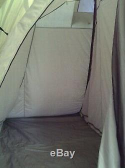 Tente En Polycoton Outwell Bear Lake 4, Y Compris Une Grande Extension Avant
