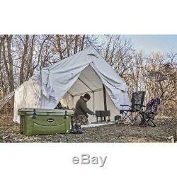 Tente En Toile Abri Extérieur Ensemble De Rangement Étage Cadre Camp Chalet 10 X 12 Pi Nouveau