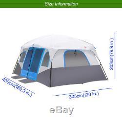 Tente Extérieure De Carlingue Imperméable De Grandes Tentes De Camping De Famille Pour 8 10 Personnes Tente