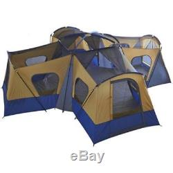 Tente Extra-large, Camping Familial, Adultes Robustes, 4 Chambres, Cabine De Refuge
