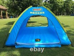Tente Familiale Gonflable 4 Personnes Grand Espace, Avec Flotteur Gonflable D'eau De Réservoir Souple