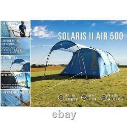 Tente Familiale Gonflable 5 Personnes Avec 2 Chambres Vango Solaris II 500 Airbeam