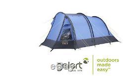 Tente Gelert Atlantis Pour 5 Personnes, Grande Tente Familiale Avec Tapis De Sol Et Porche