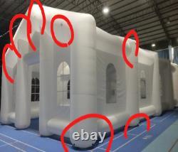 Tente Gonflable De La Maison Blanche Tente De Protection Solaire Petite Moyenne Et Grande
